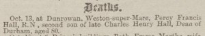 1884-10-30 The Bath Chronicle 5 (Hall)
