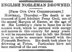 1889-06-14 Sheffield Daily Telegraph 5 (Cecil)