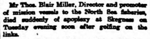 1905-09-15 The People's Journal, Aberdeen 7 (TB Miller)